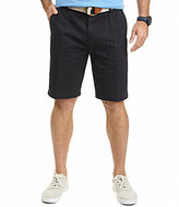 Nautica Anchor Twill Flat-Front Shorts