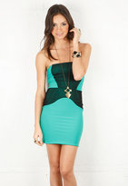Boulee Serena Dress in Cool Green