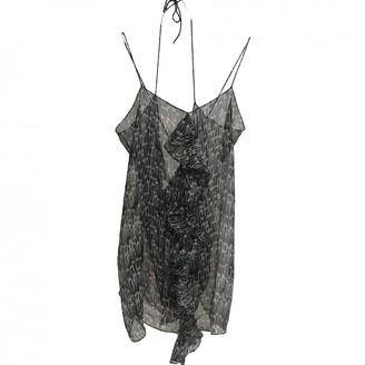 Thomas Wylde Black Silk Top for Women