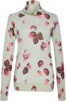 Luisa Beccaria Floral Wool Top