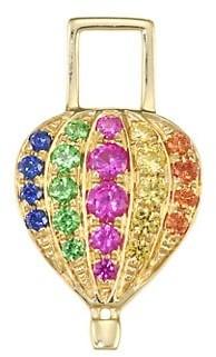 Robinson Pelham EarWish 14K Yellow Gold & Rainbow Sapphire Balloon Single Earring Charm