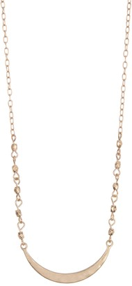 Melrose and Market Crescent Bar Necklace