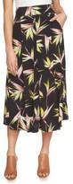 1 STATE Women's 1.state High Waist Midi Skirt