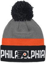 Reebok Adult Philadelphia Flyers Cuffed Pom Knit Hat
