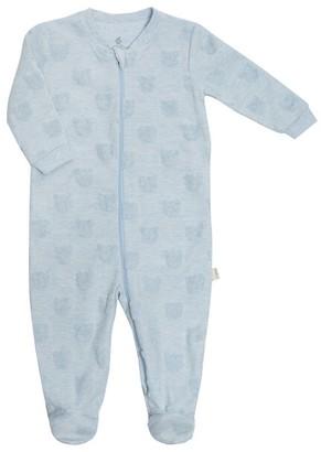 Gertex Dream Velour Burnout Sleeper - Newborn - Blue