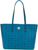 MCM logo print shopper tote - women - Leather/metal - One Size