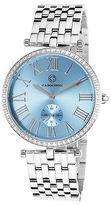 Cabochon 16389-25 Women's Carlita Stainless Steel Light Blue Dial