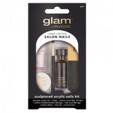 Manicare Glam Nails, Sculptured Acrylic Nails Kit 1 Kit