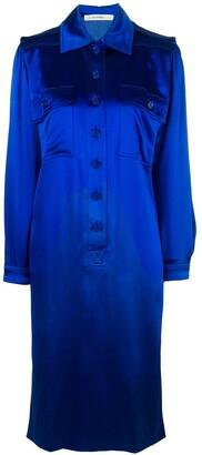 Jean Louis Scherrer Pre-Owned Mid-Length Shirt Dress