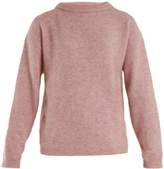 Acne Studios Dramatic brushed-knit sweater