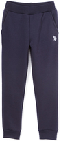 U.S. Polo Assn. Navy Fleece Sweatpants - Girls