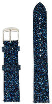 Michele 18 mm Blue Nights Crystal Watch Strap