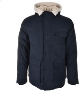 Lyle & Scott Shearling Lined Parka Jacket Navy