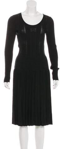 Chanel Midi Knit Dress