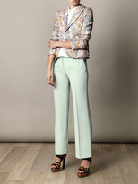 Carven Double crepe trousers