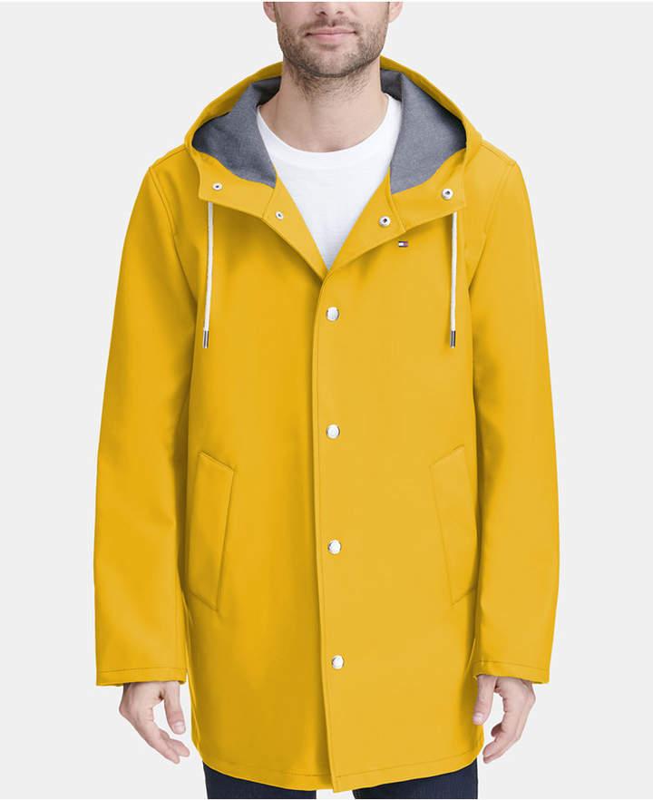 731d78b28 Men Mid-Length Rain Jacket