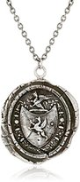 "Pyrrha Talisman Gryphon Crest Sterling Silver Pendant Necklace, 18"""