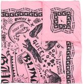 Gucci Noodle print scarf
