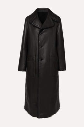 Joseph Maybelle Reversible Shearling Coat - Black