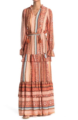 Flying Tomato Printed Maxi Dress