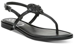 Sam Edelman Women's Caya Medallion Flat Sandals Women's Shoes