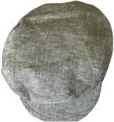 Maison Michel Grey Cloth Hats