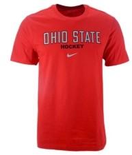 Nike Ohio State Buckeyes Men's Core Hockey Wordmark T-Shirt