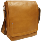 Piel Leather Flap-Over Carry-All 2883
