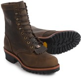 """Chippewa Logger Boots - Leather, 8"""" (For Men)"""