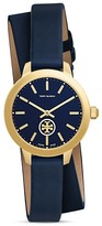 Tory Burch Collins Double Wrap Watch, 32mm