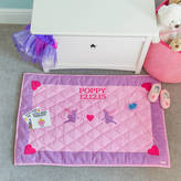 Kiddiewinkles Children's Pink Fairy And Heart Floor And Play Mat