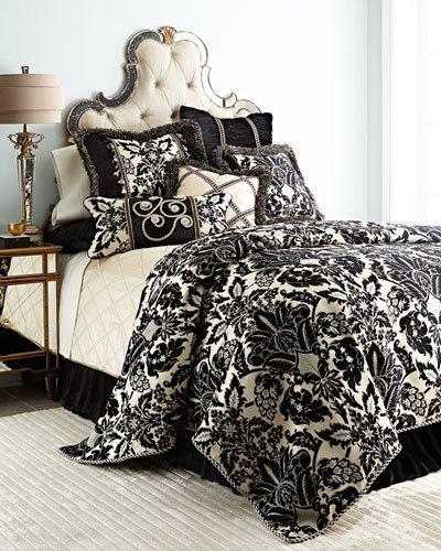 "Sweet Dreams Verona 19""Sq. Reversible Pillow with Brush Fringe"