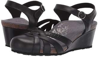Aetrex Lindsay (Black) Women's Sandals
