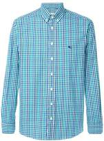 Etro classic check shirt