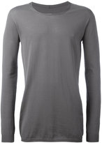 Rick Owens scoop neck jumper - men - Cotton - S