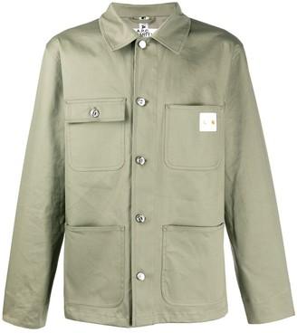 A.P.C. X Carhartt military shirt