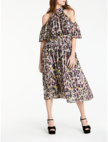Somerset by Alice Temperley Animal Off The Shoulder Dress