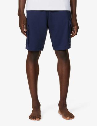 Emporio Armani Cargo cotton-jersey shorts