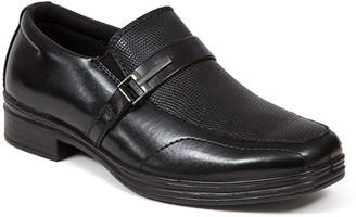 Deer Stags Kid's Slip-On Dress Comfort Loafers- Bold