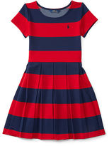 Ralph Lauren Striped Ponte Dress