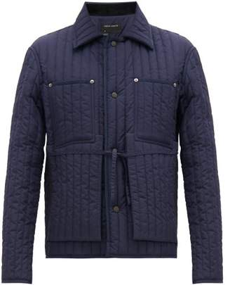 Craig Green Quilted Shell Worker Jacket - Mens - Navy