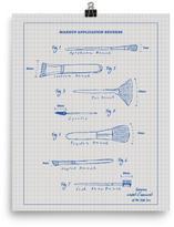 Mr. Kate Makeup Brush Blueprint