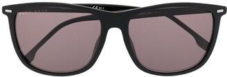 HUGO BOSS Tinted Square-Frame Sunglasses