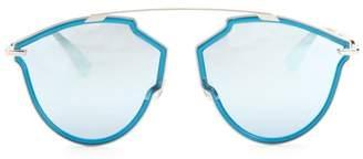 Christian Dior 48MM Tortoise Aviator Sunglasses