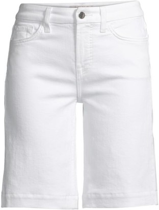 JEN7 by 7 For All Mankind Sculpting Bermuda Jean Shorts
