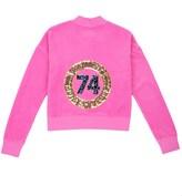 Juicy Couture Girls Logo Velour Glam Ring Westwood Jacket