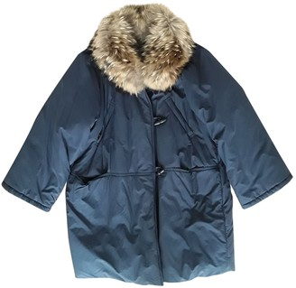 Max Mara Weekend Blue Coat for Women