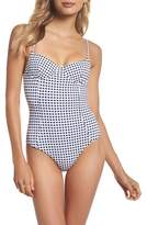 Onia Check One-Piece Swimsuit