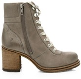 Frye Karen Shearling & Leather Hiking Boots
