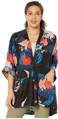 Johnny Was Kim Reversible Kimono (Multi B) Women's Clothing